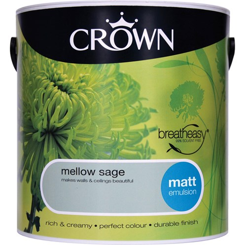 Crown  Matt Colours Paint - 2.5 Litre