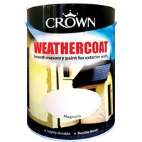 Crown  Weathercoat Colours Paint - 10 Litre