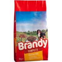 Brandy  Dry Dog Food Complete Chicken & Rice - 9kg