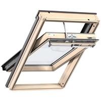 Velux Integra Centre Pivot Electric Roof Window Pine - GGL 307021